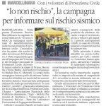 Il Quotidiano_IO NON RISCHIO_19 ottobre 2019