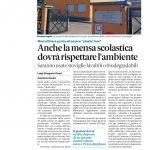 Mensa_Plastic free_Gazzetta del Sud_26 settembre 2019